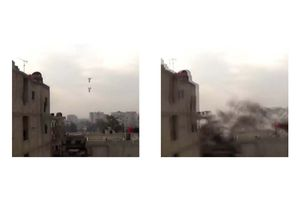 HD Syrian Air Force Death From Above Airstrikes And Barrel Bombs Collection In Syria