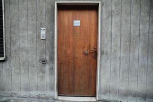 Door to workshop