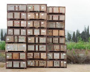 Apple Boxes, Kibbutz Yiftach, 2011