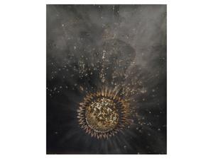 Untitled Work of Fire .34 2011. 10x8 Unique gunpowder generated gelatin silver print.
