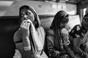 IMPRESSIONS AT THE OLD DELHI RAILWAY STATION 35