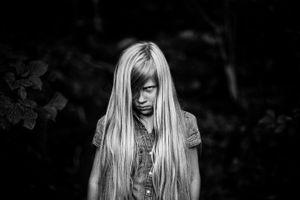 Dark Girl © Alan Thomas Duncan Wilkie