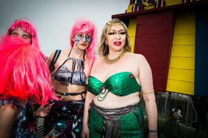 Mermaids, Brooklyn NY, June 2015