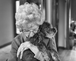 Mom and Her Old Dog