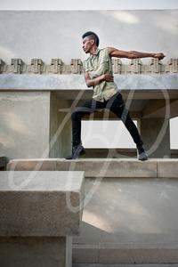 Xavier Cunningham, Hip-Hop Dancer