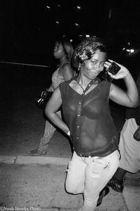 Girl poses