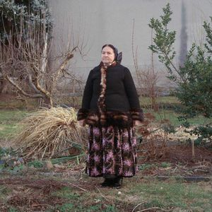 Monica Scholze, Catholic Sorb, Lusatia, 2017. From the series: The last women in their traditional peasant garbs