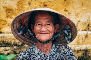 Vietnamese old lady