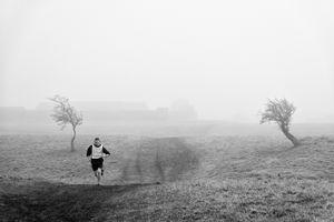 Runner in Phoenix Park