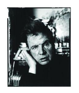 Francis Bacon by David Bailey, 1983 © David Bailey