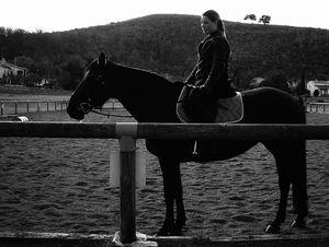 """""""Sunset Over Mountain Utelle""""  2005, France"""