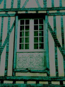 Half-timbered Facade