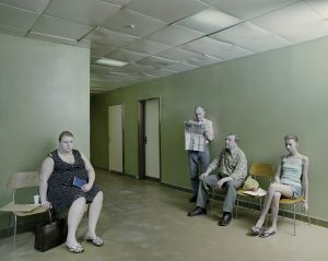 Waiting Room, from the Leakage series, 2011. Courtesy of the artist.
