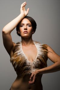 portrait of dancer and choreographer Marissa Alma Nick