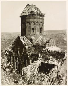 """The Church of St. Gregory of Tigran Honents, Ani. From the exhibition """"In Focus: Ara Guler's Anatolia"""" © Ara Guler, Freer Gallery and Arthur M. Sackler Gallery Archive"""