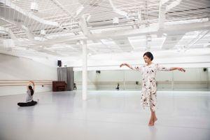Jin Xing in her studio,Shanghai