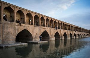The Khaju Bridge, Isfahan.