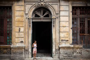 Boy in Doorway, Havana, Cuba, 2010