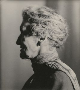 """Margaret Emma Alice ('Margot') Asquith (née Tennant), Countess of Oxford and Asquithby Lucia Moholy, 1935 © DACS 2017. On view until 29 October as part of our Room 29 display, """"A Century of Photography, 1840-1940"""""""