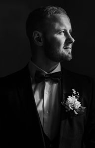 Groom alone