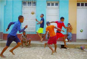 Cobblestone Futbol - Trinidad, Cuba 2015