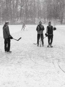 Bushy Hill Hockey Players, 12 30 17