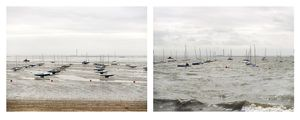 Grand Prize Winner, Portfolio Category, Lens Culture International Exposure Awards 2011 Southend-on-Sea, Essex. 10 September 2010. Low water 7:45 am, high water 2 pm, from the series Sea Change © Michael Marten