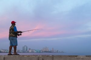 Early AM Fisherman, Havana.
