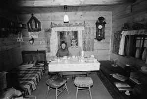 Zofia Rydet, Sociological Record, Silesia, Glinica, 1978. People in Interiors cycle © Zofia Augustynska-Martyniak