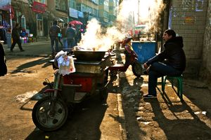 Western Series (China) No.10  (Morning snack stall)
