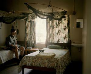 untitled, professional hunter, zimbabwe-from the series 'hunters'-David Chancellor