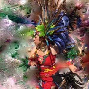 Conchero Dancer