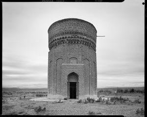 Tower at Mehmandust, east of Damghan, Semnan Province, Iran, 2015. Built 1097 AD.