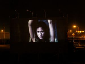"""Naval Base Cinema from """"If The Light Goes Out: Home from Guantanamo"""" © Edmund Clark"""