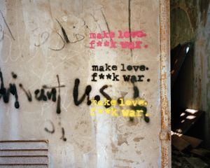 Make Love, F**k War, Beirut Lebanon 2015