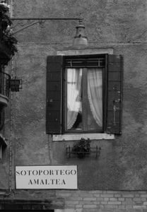 Month earlier. Venice, Italy.