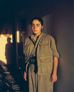 Zilan, 19 years old. Sinjar, North Iraq.