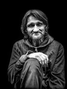 There by the Grace of God go I.  Intentionally Homeless