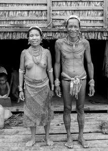 Couple Mentawai. Nos hôtes