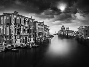 Réalités, pont dell'accademia, Venise