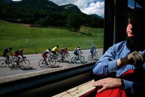 Tour de France en Suisse, Intyamon; Cycling tour