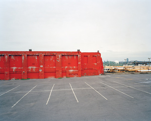 Western Beef, Inc. parking lot, 47-05 Woodward Avenue, West Maspeth, Queens, looking northwest