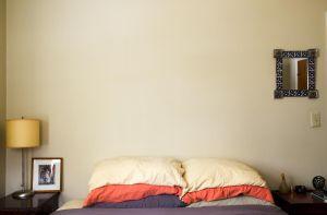 Orange Pillow Case, MA, USA