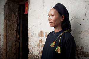 San Chay lady in Lang Son Province