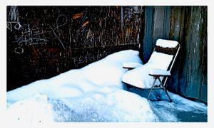 Winter Street Scene No9
