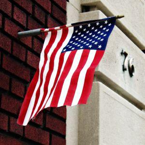 American Flag, FDNY Engine 205, Ladder 118, Brooklyn, New York, 2009