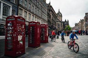 City break, Edinburg, Scotland