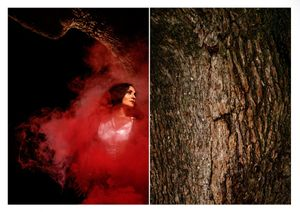 The red color of a Witch