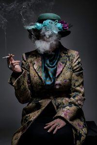 Smoking flowers