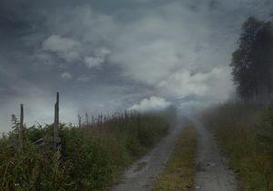 Unnamed farm road